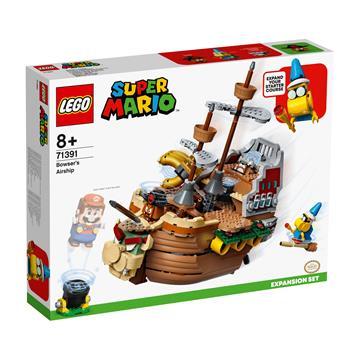 לגו מגה סטור סופר מריו 71391 LEGO Bowser's Airship Expansion Set