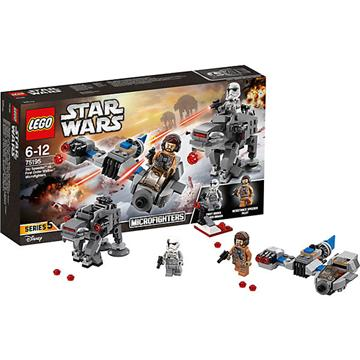לגו מגה סטור מלחמת הכוכבים LEGO Ski Speeder vs. First Order Walker Microfighters 75195