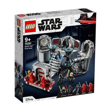לגו מגה סטור מלחמת הכוכבים LEGO Death Star Final Duel 75291