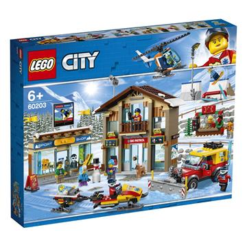 לגו מגה סטור סיטי LEGO Ski Resort 60203