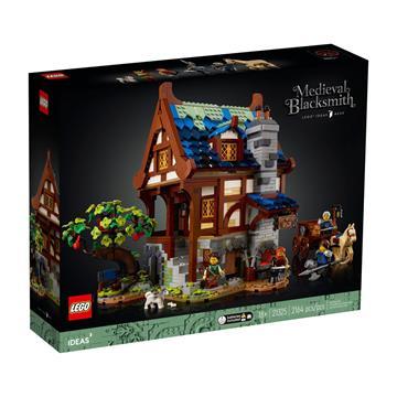 לגו מגה סטור רעיונות LEGO Medieval Blacksmith 21325