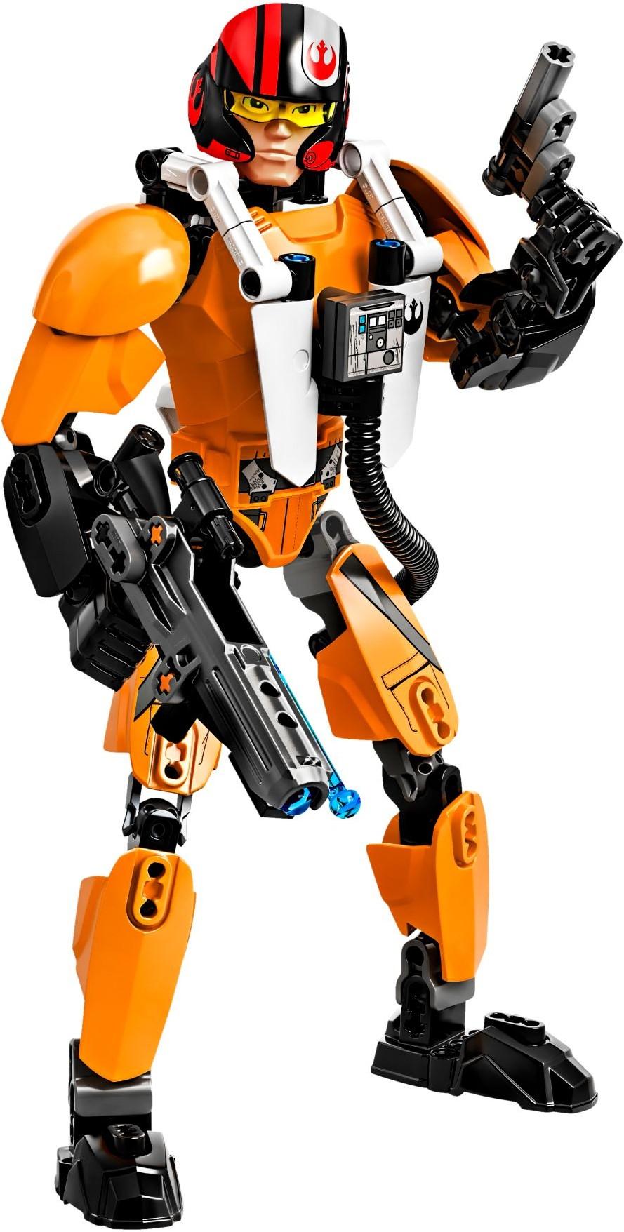 לגו מלחמת הכוכבים LEGO Poe Dameron 75115