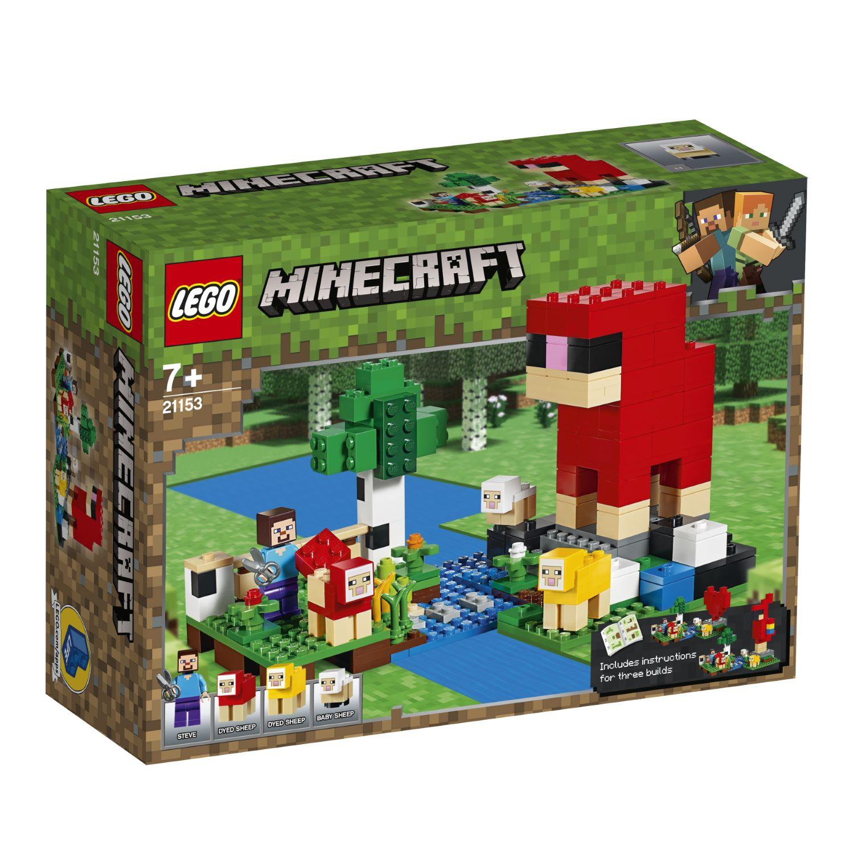 LEGO The Wool Farm 21153 לגו מגה סטור Minecraft