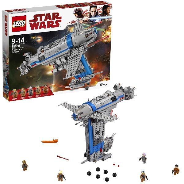 לגו מלחמת הכוכבים LEGO Resistance Bomber 75188