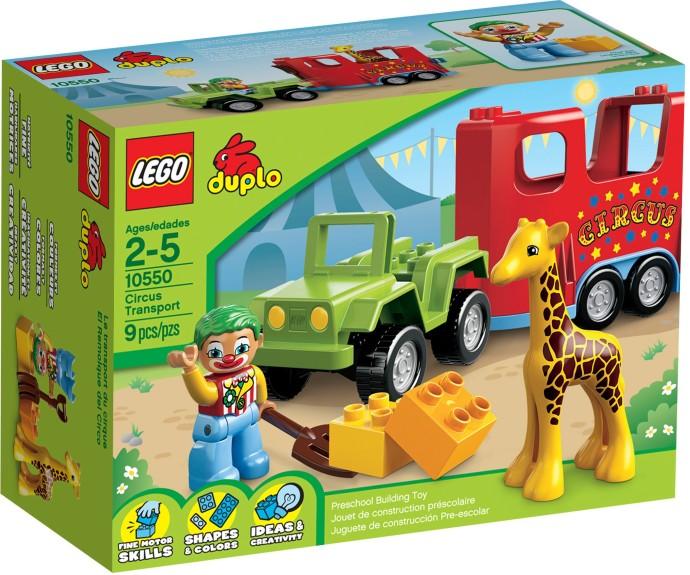 לגו דופלו LEGO Circus Transport 10550