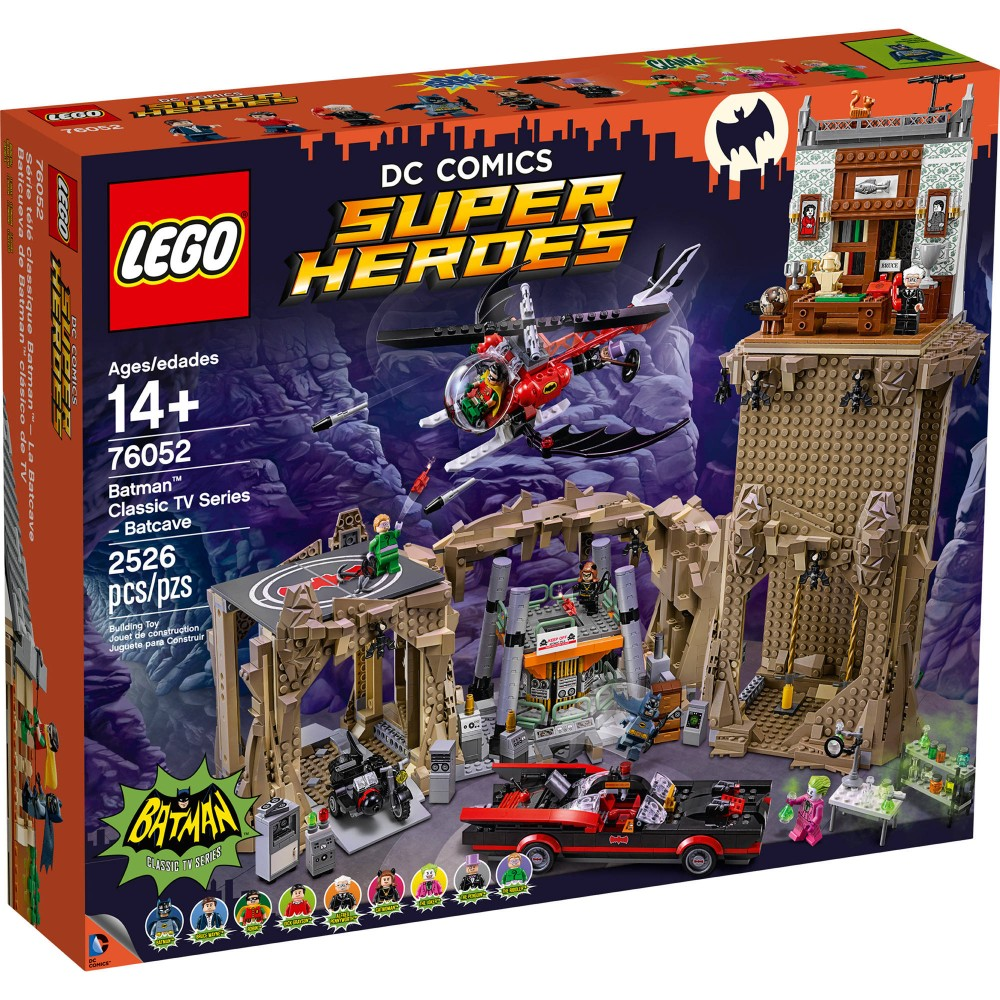 לגו גיבורי על LEGO Batman Classic TV Series – Batcave 76052