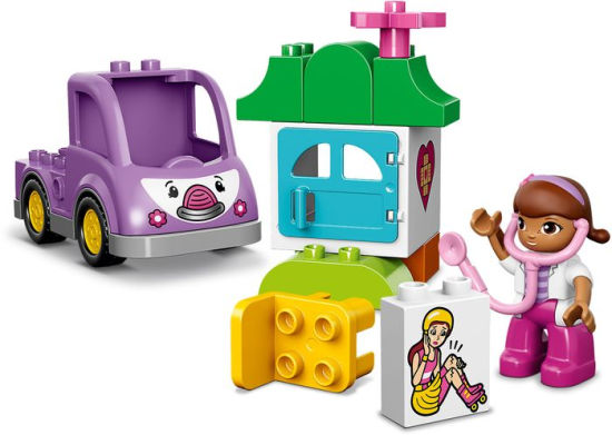 לגו דופלו LEGO Doc McStuffins Rosie the Ambulance 10605