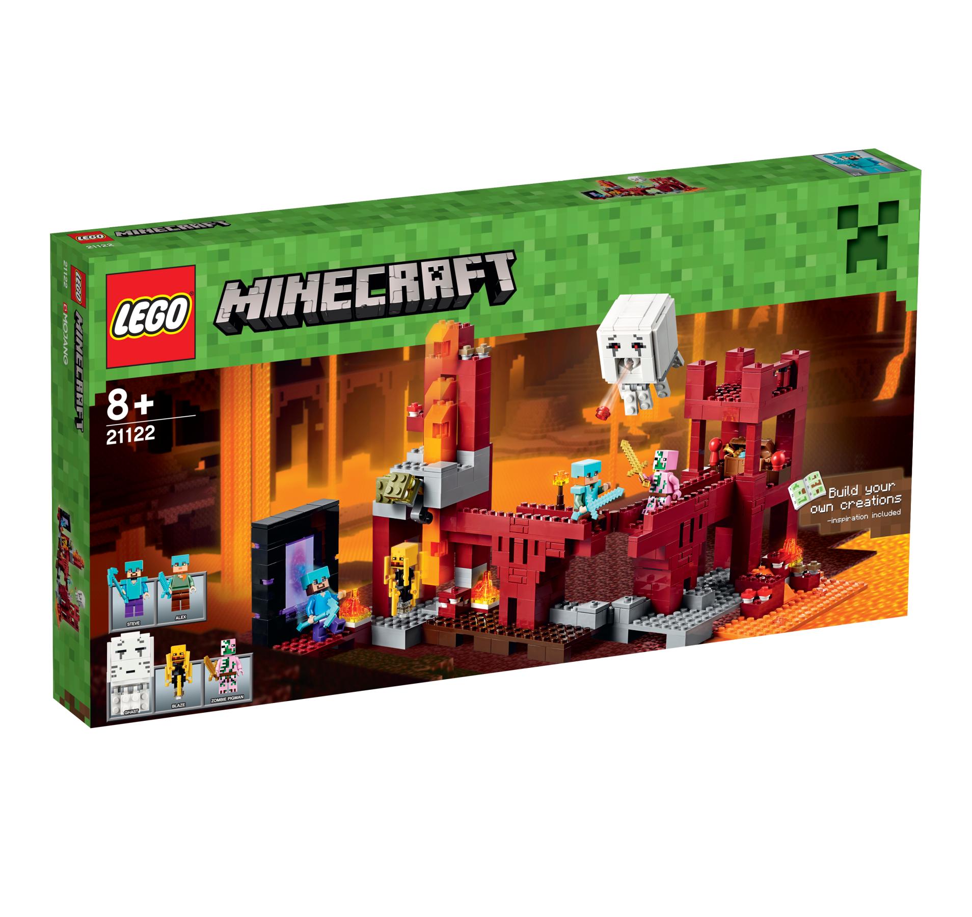 לגו מגה סטור מיינקראפט LEGO The Nether Fortress 21122