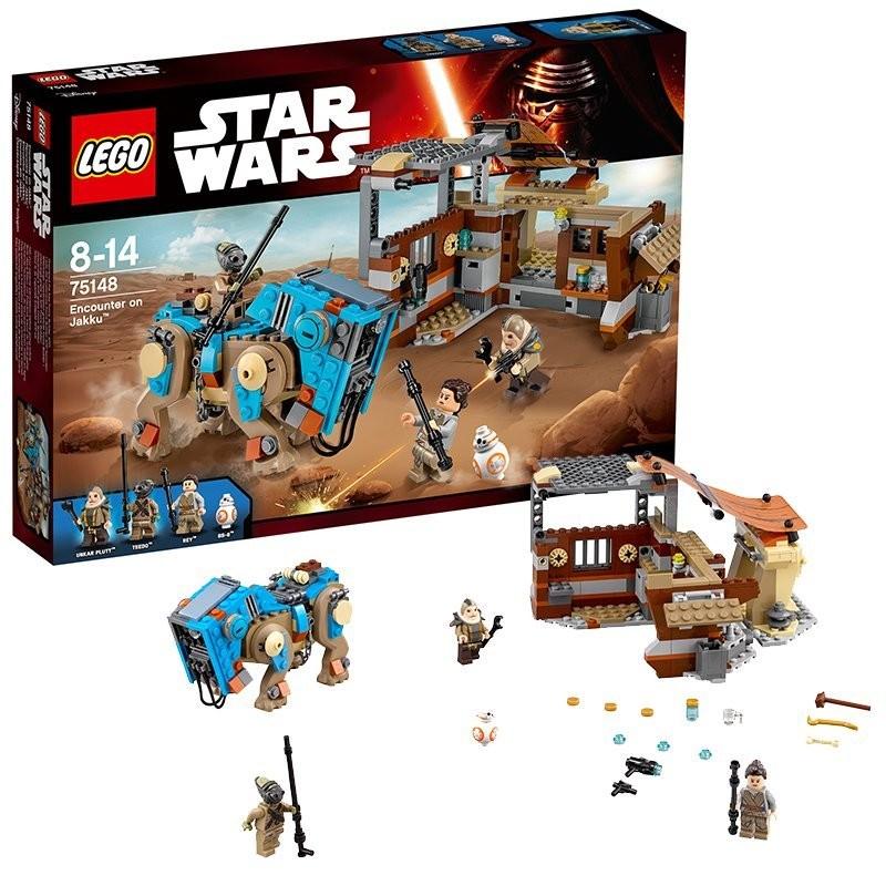 לגו מלחמת הכוכבים LEGO Encounter on Jakku 75148
