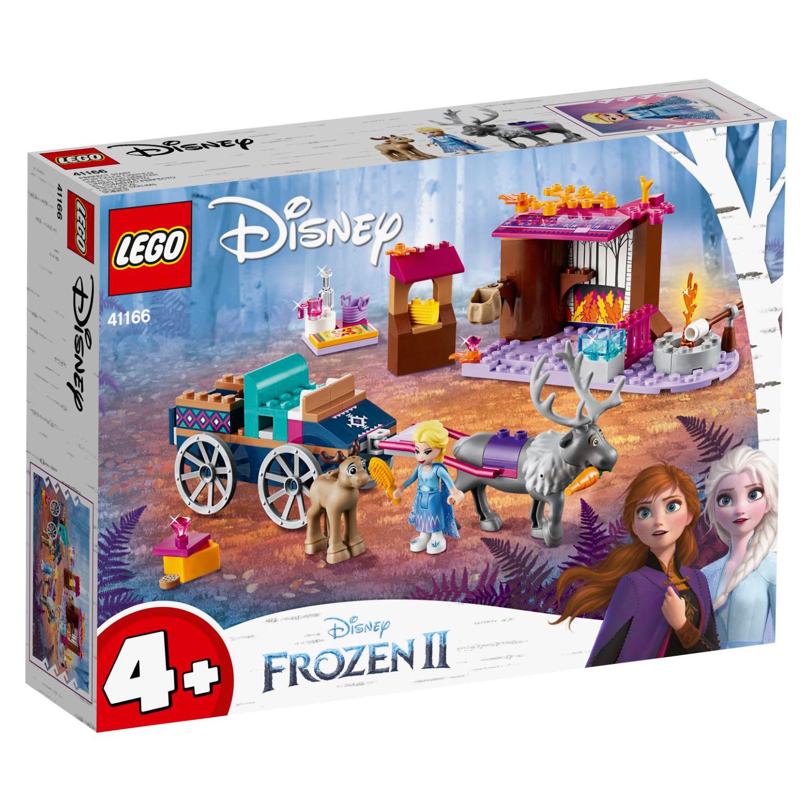 LEGO Elsa and the Reindeer Carriage 41166 לגו מגה סטור נסיכת דיסני