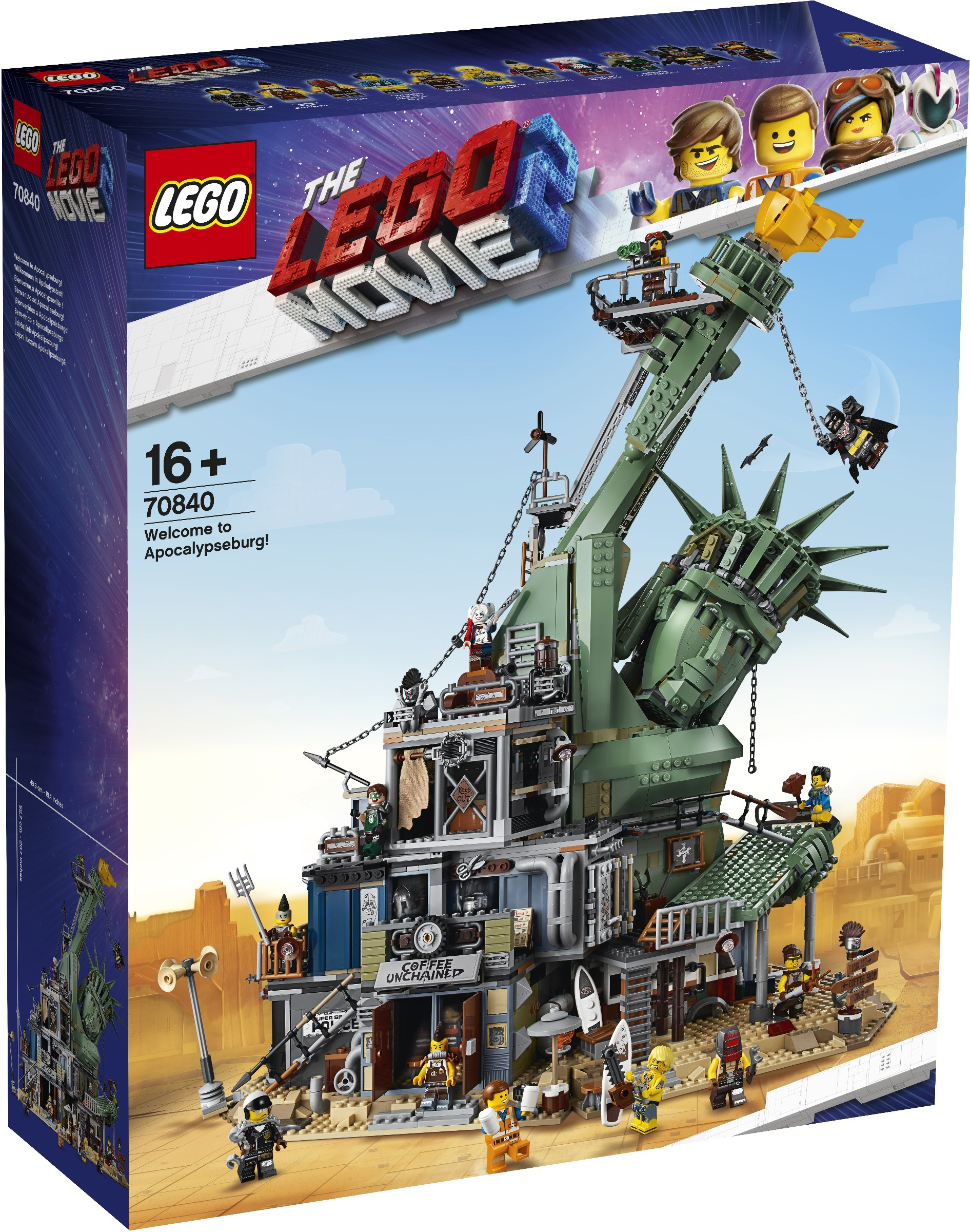 לגו מגה סטור סרט הלגו 2 70840 !LEGO Welcome to Apocalypseburg