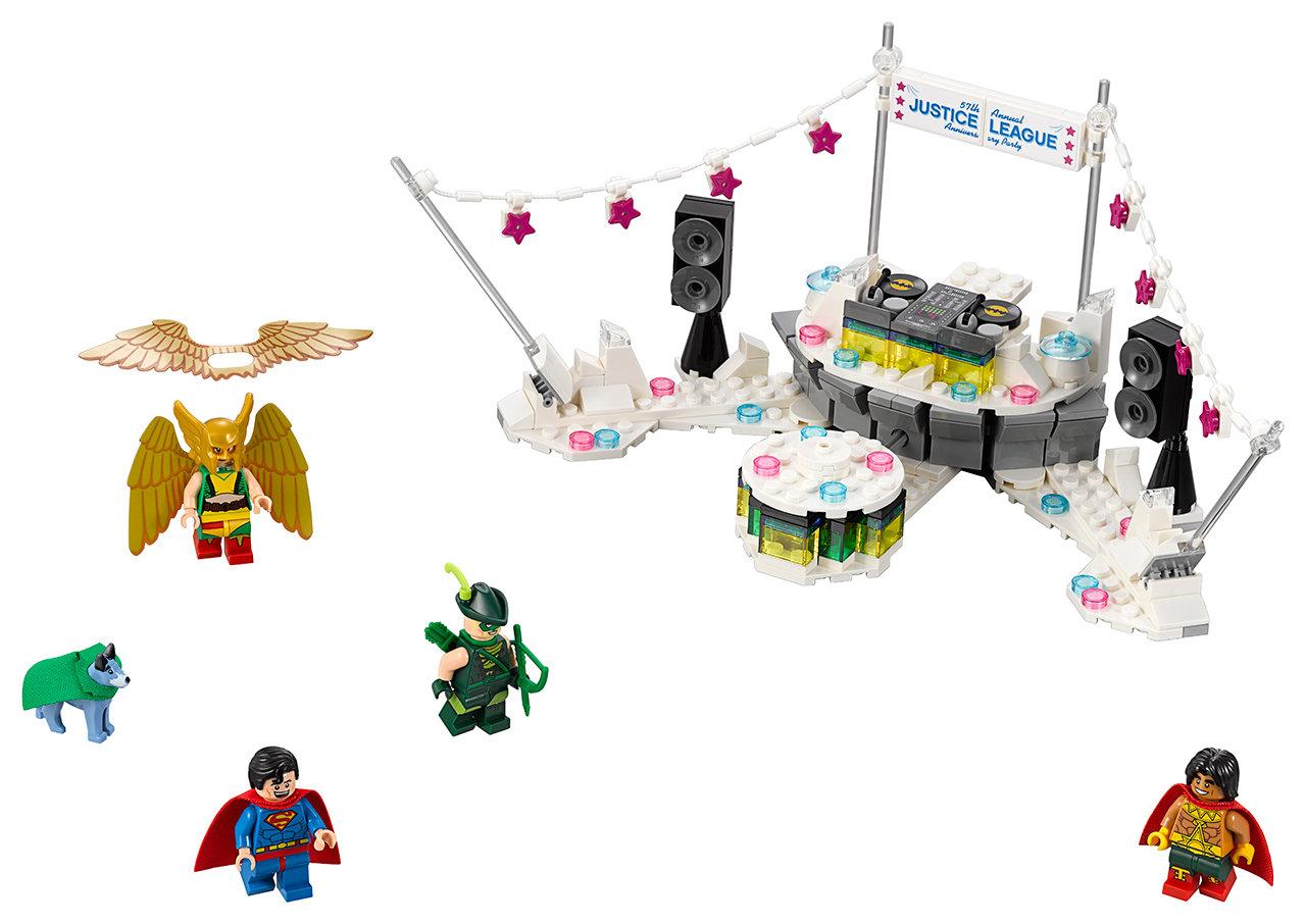 לגו סרט הבאטמן LEGO The Justice League Anniversary Party 70919