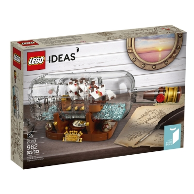 לגו רעיונות LEGO Ship in a Bottle 21313