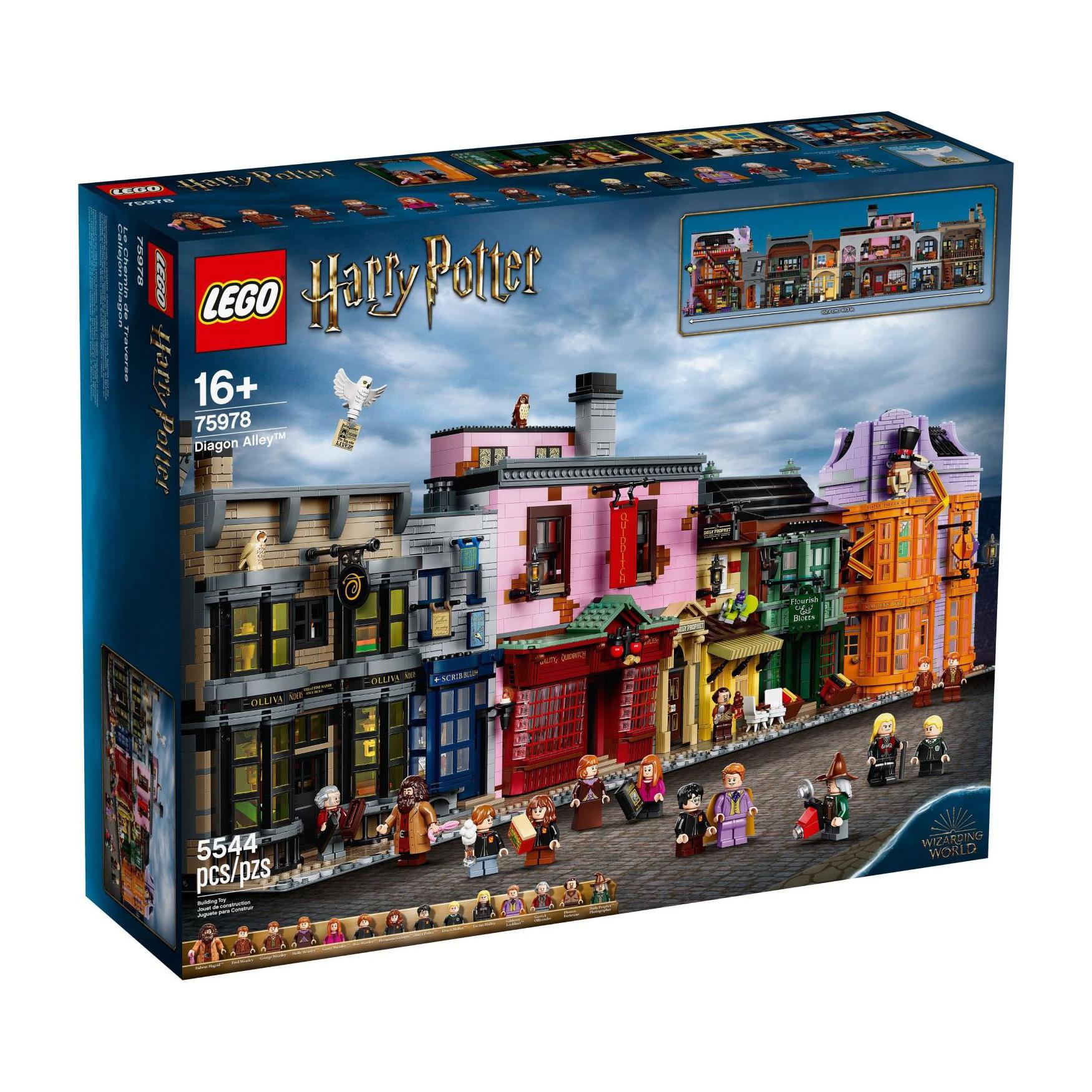LEGO Diagon Alley 75978  לגו מגה סטור הארי פוטר