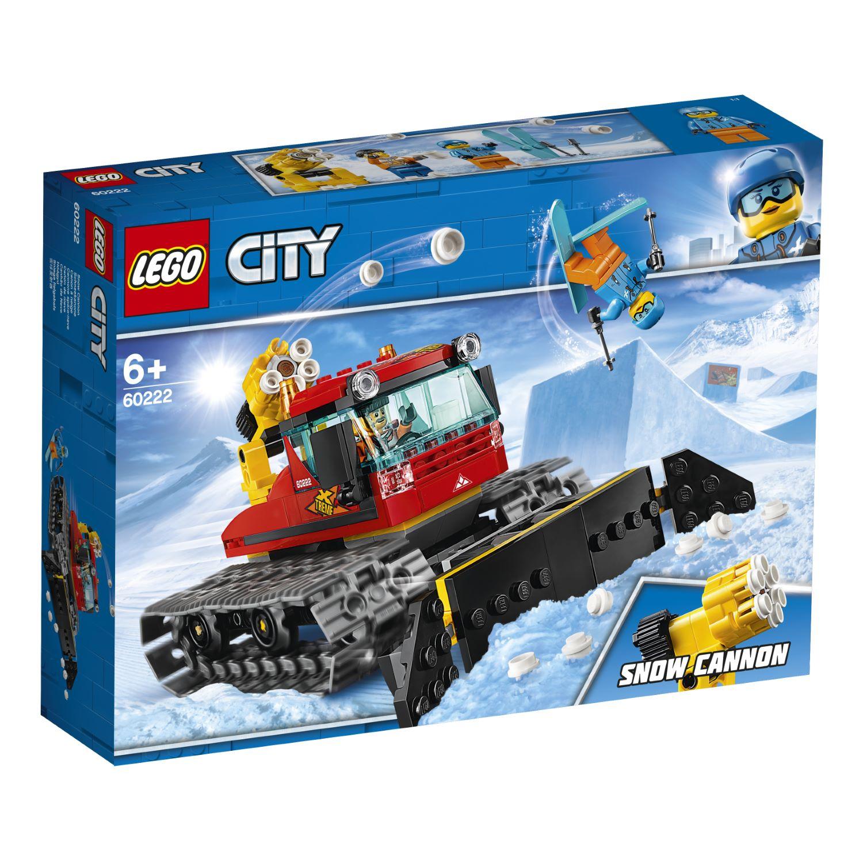 LEGO Snow Groomer 60222 לגו מגה סטור סיטי