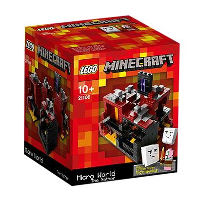 לגו מגה סטור מיינקראפט LEGO The Nether 21106