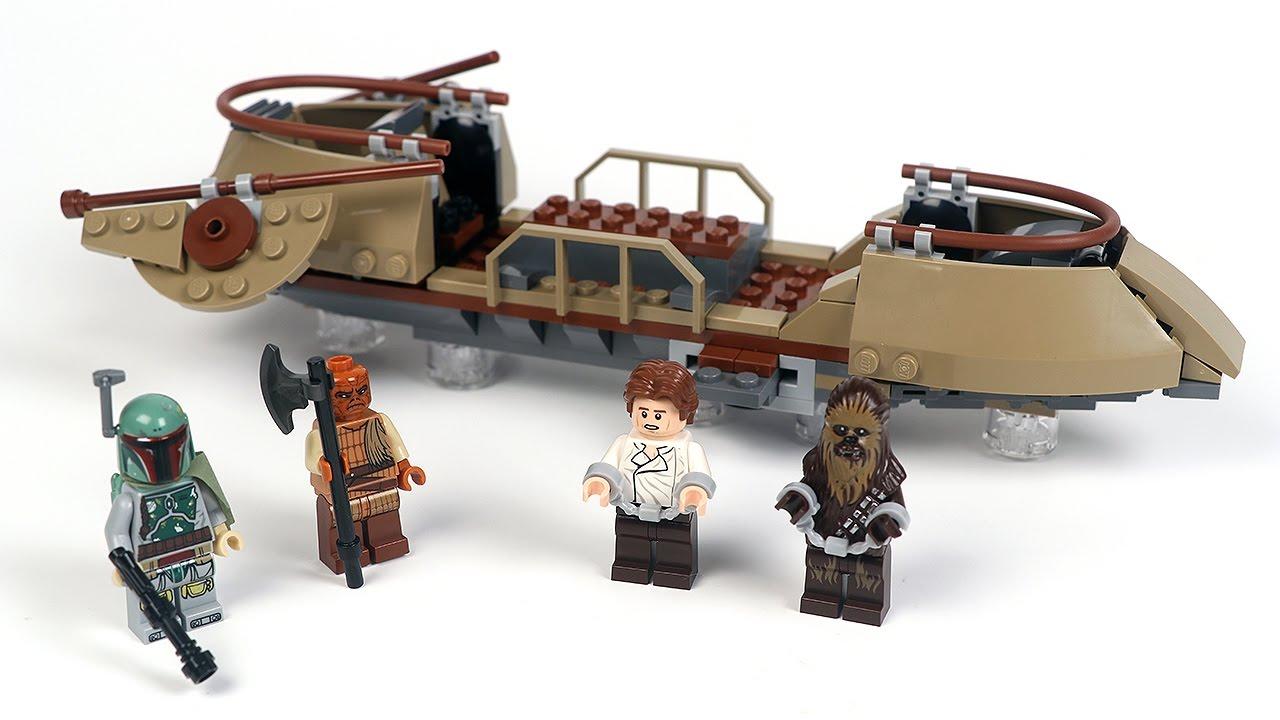 לגו מלחמת הכוכבים LEGO Desert Skiff Escape 75174