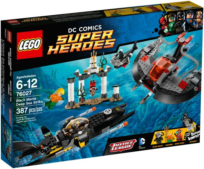 לגו גיבורי על LEGO Black Manta Deep Sea Strike 76027