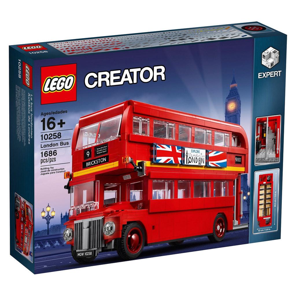 לגו מגה סטור קריאייטור LEGO London Bus 10258