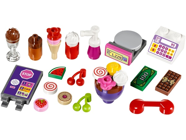 לגו חברות LEGO Heartlake Frozen Yogurt Shop 41320