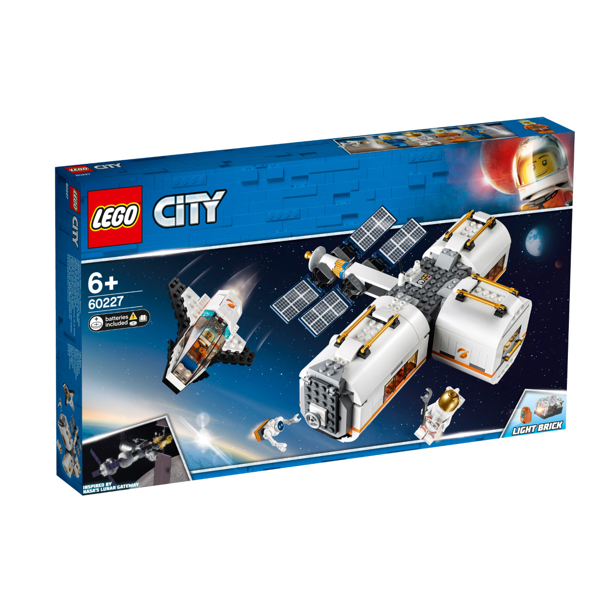 LEGO Lunar Space Station 60227 לגו מגה סטור סיטי