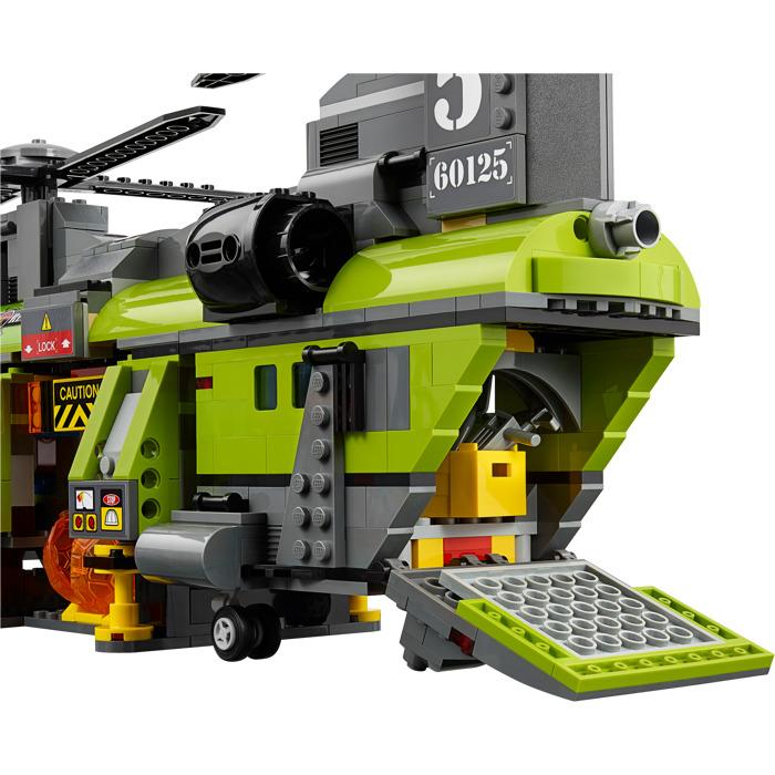 לגו סיטי LEGO Volcano Heavy-Lift Helicopter 60125