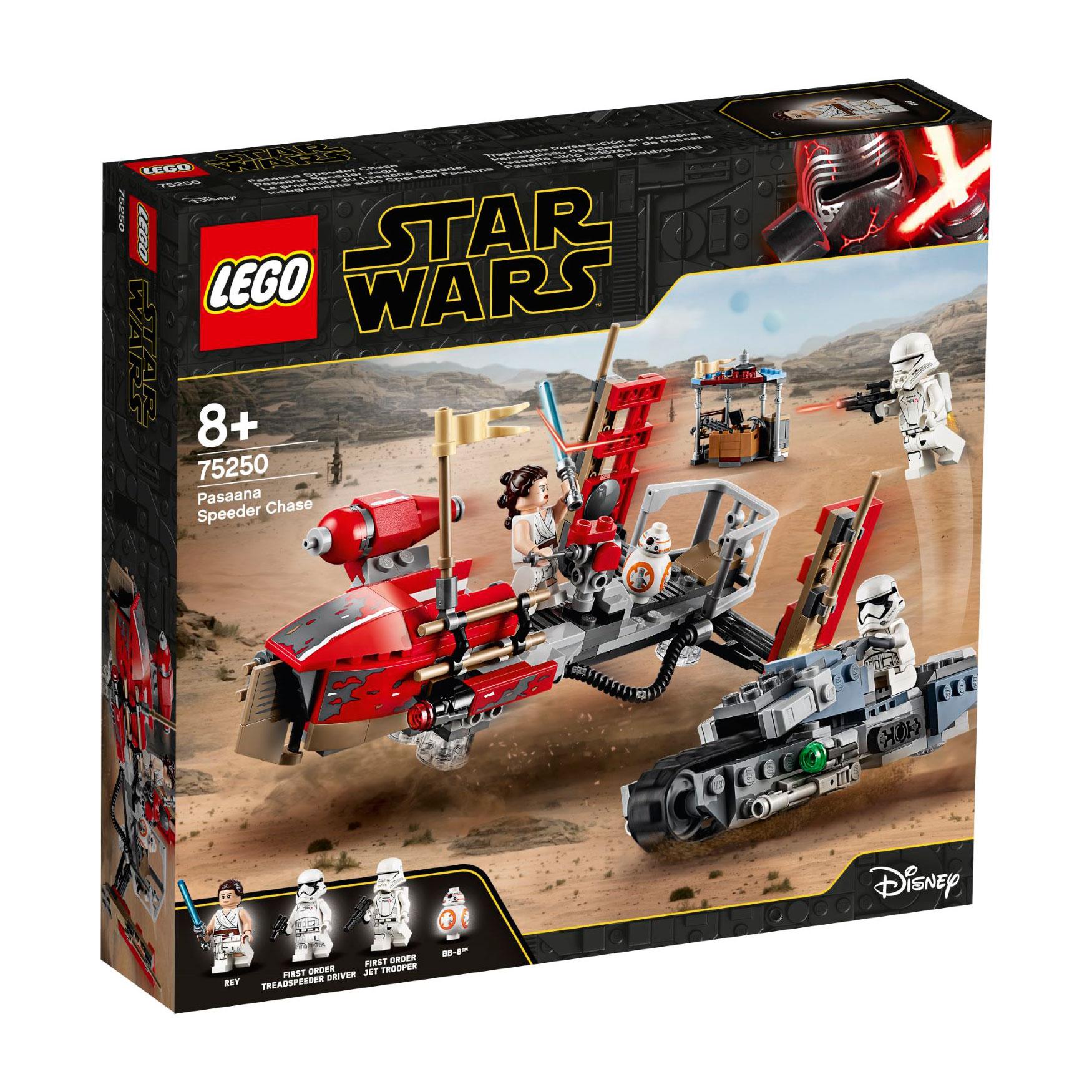 לגו מגה סטור מלחמת הכוכבים LEGO Pasaana Speeder Chase 75250