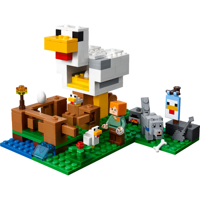 לגו מגה סטור מיינקראפט LEGO The Chicken Coop 21140