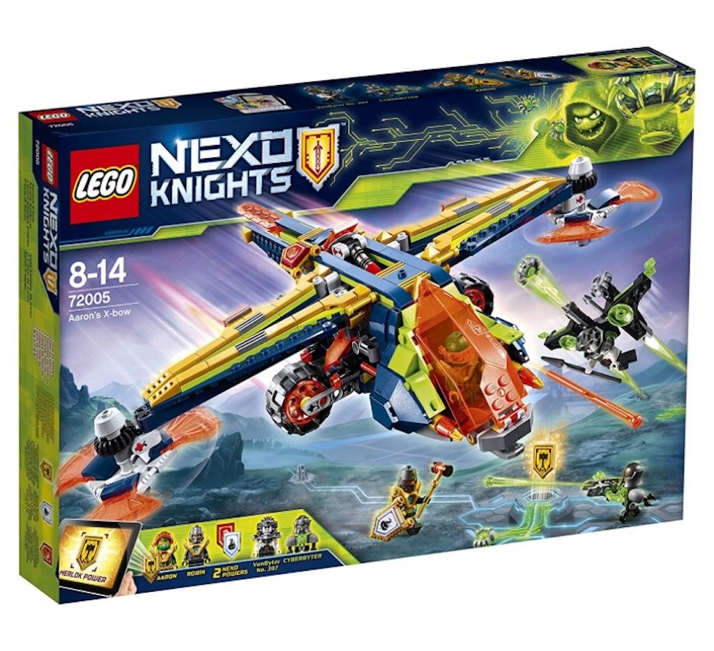 לגו מגה סטור אבירי נקסו LEGO Aaron